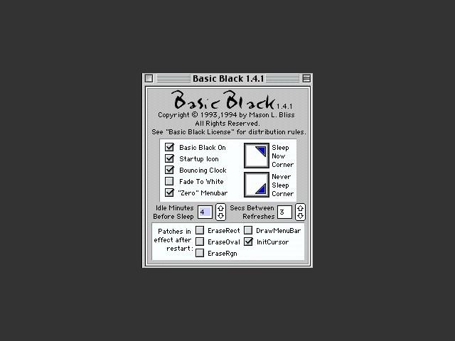 Basic Black (1993)