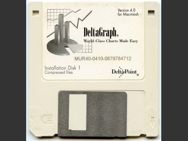 DeltaGraph Professional 4.0.1 (1996)