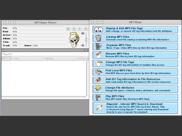 MP3 RAGE 3.93 (2001)