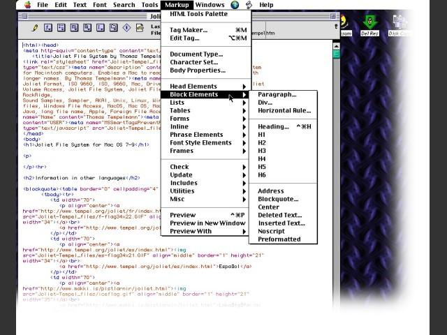 BBEdit Lite 4.6 (1999)