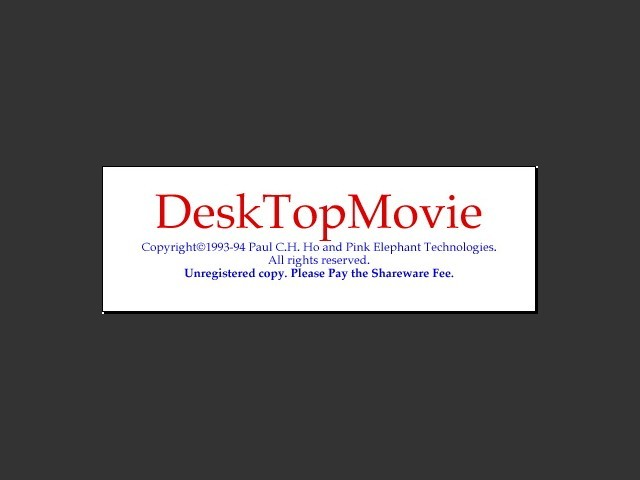DesktopMovie (1993)