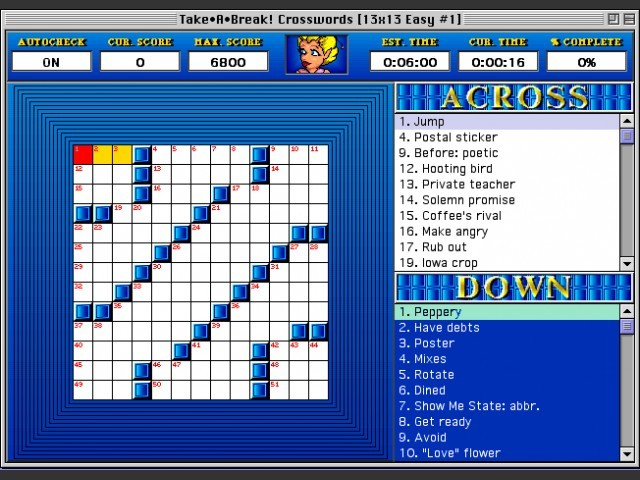 Take•A•Break Crosswords (1993)