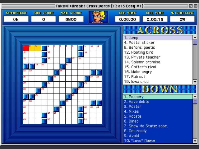 Take•A•Break Crosswords (1993)