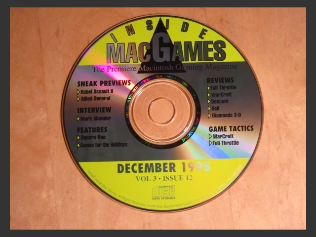 Inside Mac Games CD December 1995 (1995)