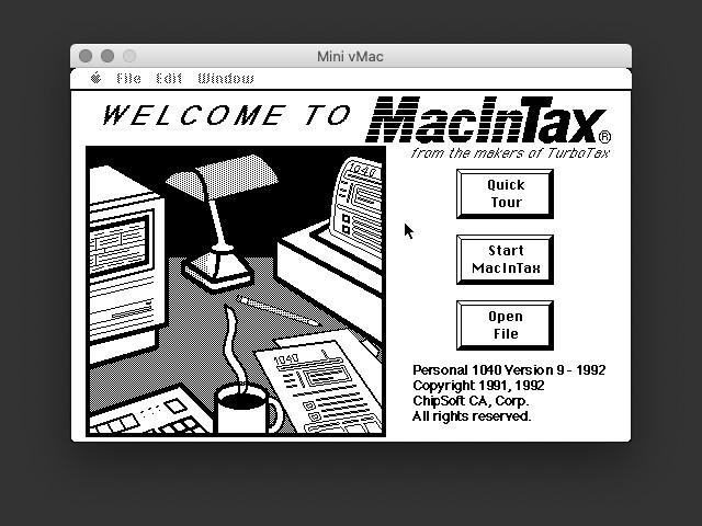 MacInTax 1991 (1991)