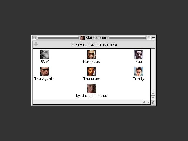 Matrix Icons (1999)