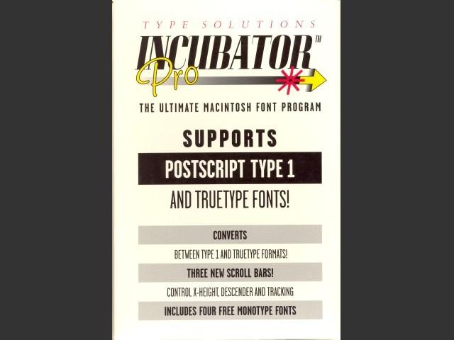 Incubator Pro (1992)