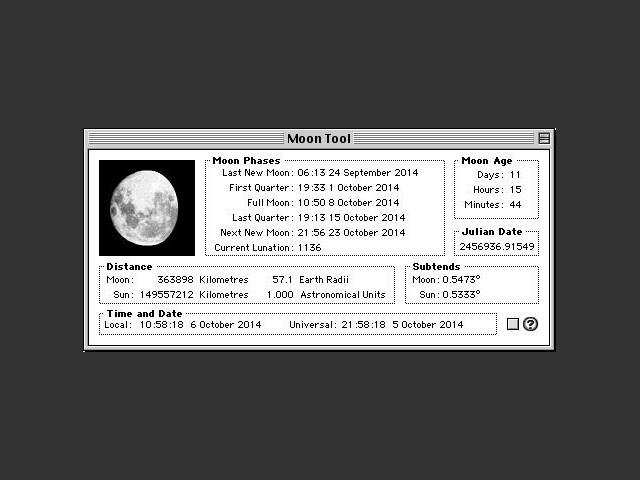 Moon Tool 1.0.1 (1994)