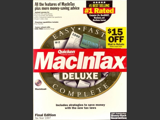 MacInTax 1997 (1998)