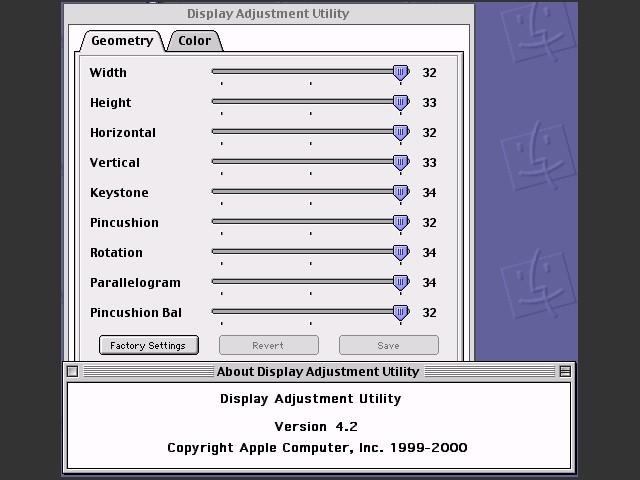 Display Adjustment Utility - Macintosh Repository
