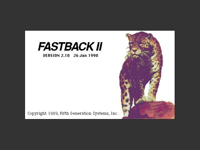 Fastback II (1990)
