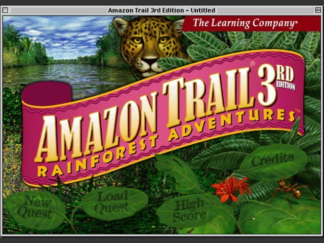 Amazon Trail: 3rd Edition (1999)