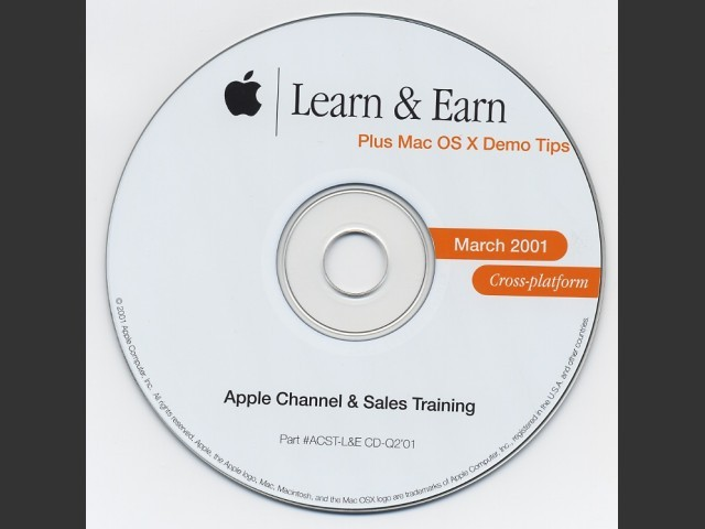 Learn & Earn (March 2001) (2001)