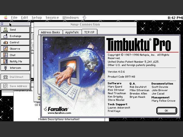 Timbuktu Pro 4 (1997)