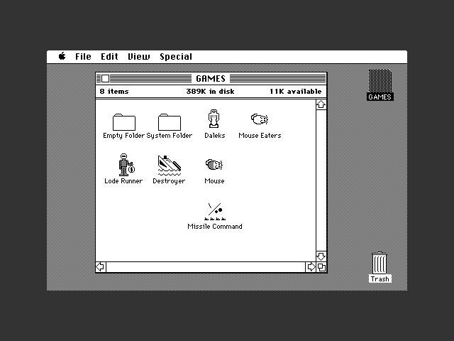 """""""Disk 5"""" - GAMES - Mac 87D9 (1984)"""