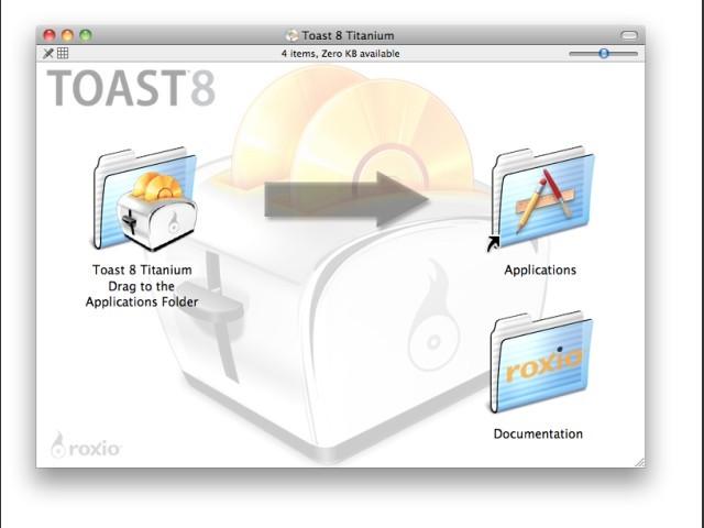 Toast 8 Titanium (2007)