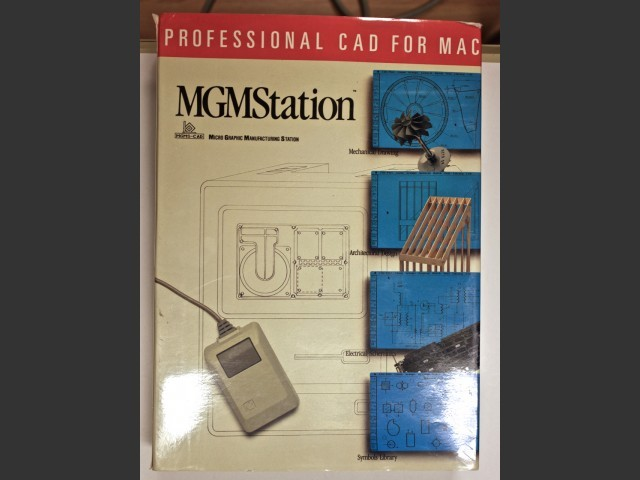 MGMS: Professional CAD for Macintosh (1987)
