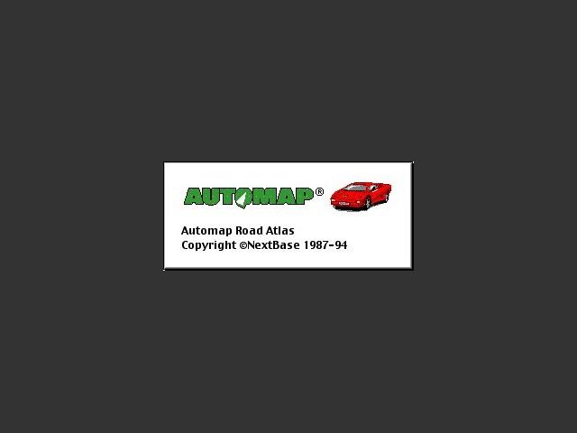 Automap Road Atlas 2.x (1994)