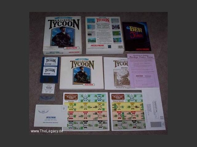 Sid Meier's Railroad Tycoon - Macintosh Repository