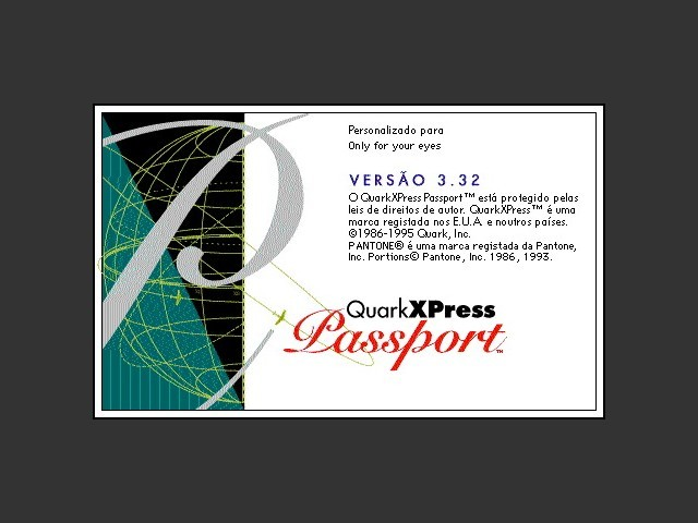 QuarkXPress Passport 3.32 (Portuguese) (1995)