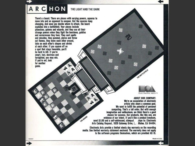 Archon (Mac) box back