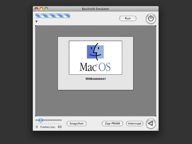 Nigel's port v19b running Mac OS 7 (German)