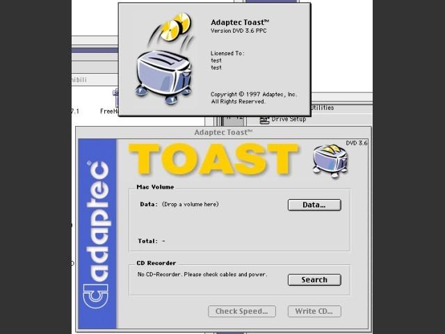 Toast DVD 3.6 (1997)