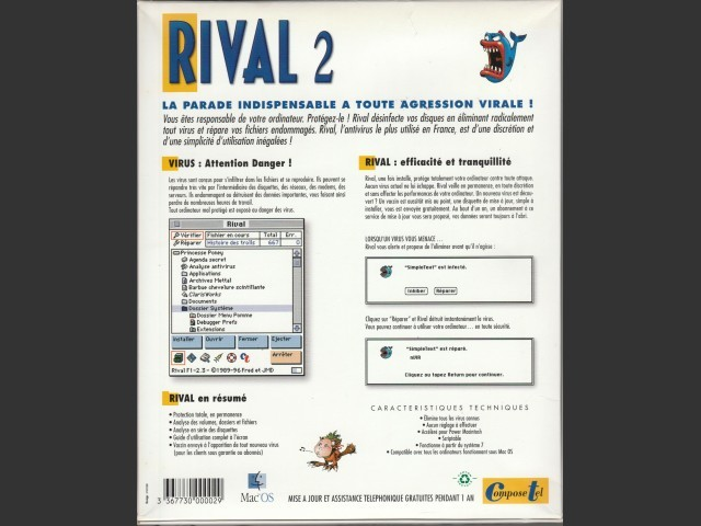 Rival 2 (French) (1996)