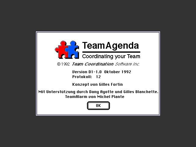 TeamAgenda 1.0 (1992)