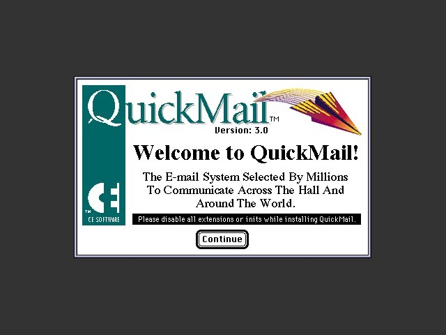QuickMail 3.0 (1994)