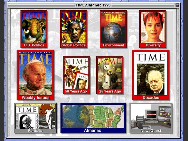 1995 TIME Almanac (1995)