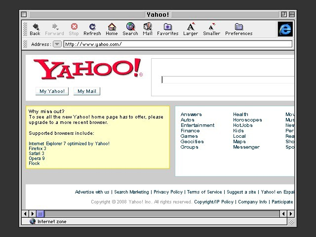 Internet Explorer 4.01 & Outlook Express 4 (1998)