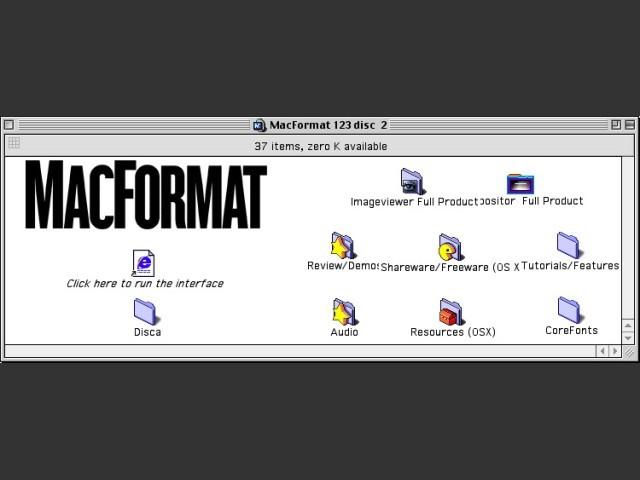 MacFormat 123 CD 2/2