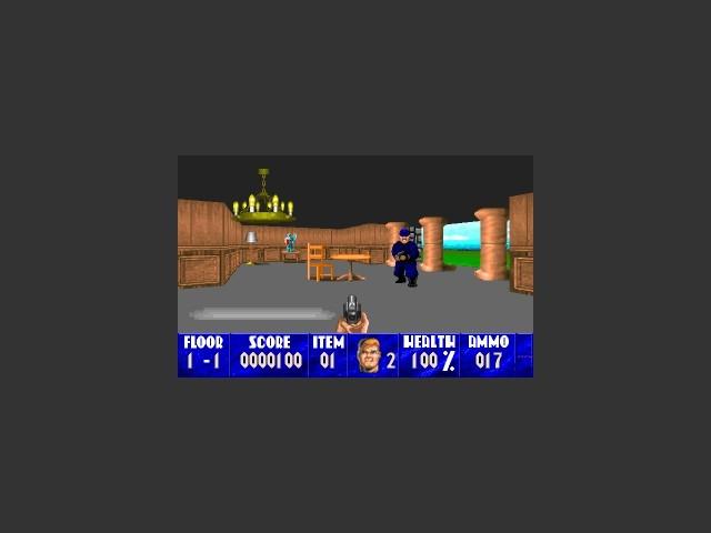 Laz Rojas' Wolfenstein 3D Scenarios (1994)