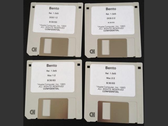 Bento (OpenDoc) v1.0d5 (1993)