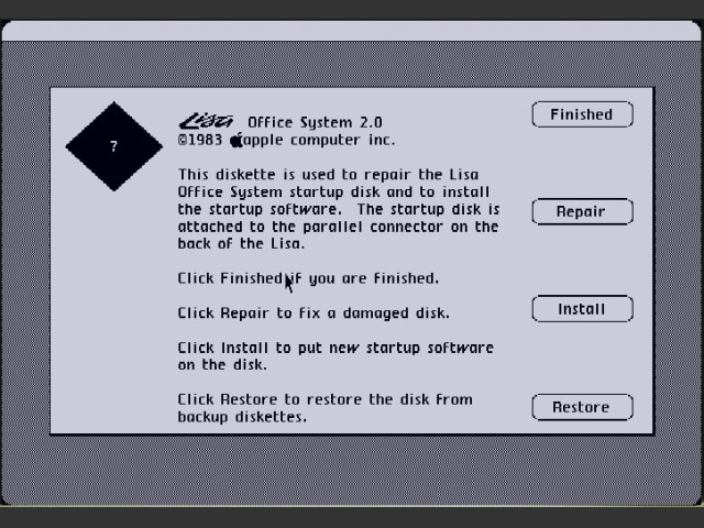 Lisa Office System 2.0 (1984)