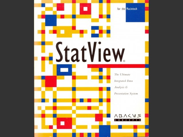 StatView 4 (1992)