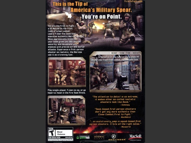 Close Combat: First to Fight (2005)