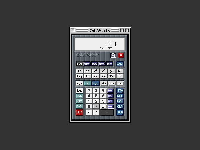 CalcWorks SE (2001)