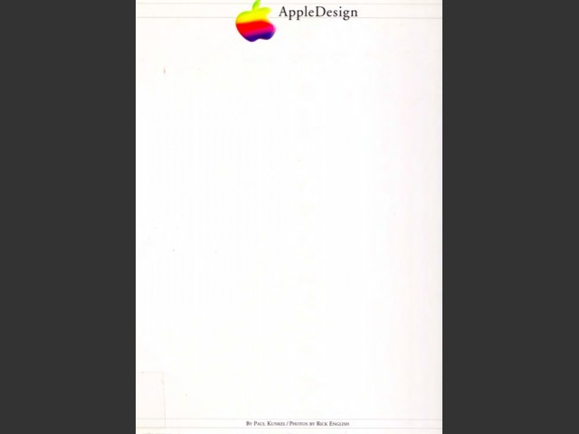 AppleDesign [BOOK] (1997)