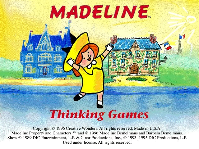 Madeline Thinking Games (1996)