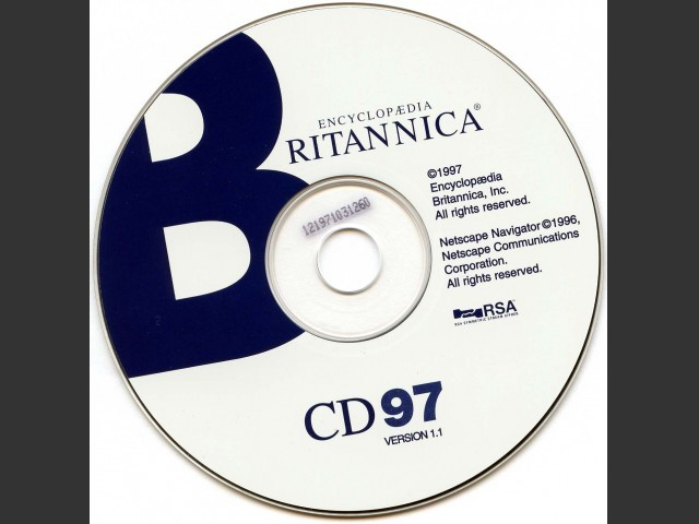 Encyclopedia Britannica 1997 (1997)