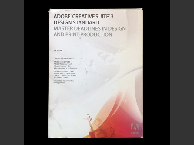 Adobe Creative Suite 3 (2007)