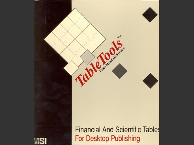 TableTools (1988)