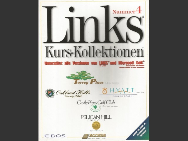Links 5-Course Libraries (1997)