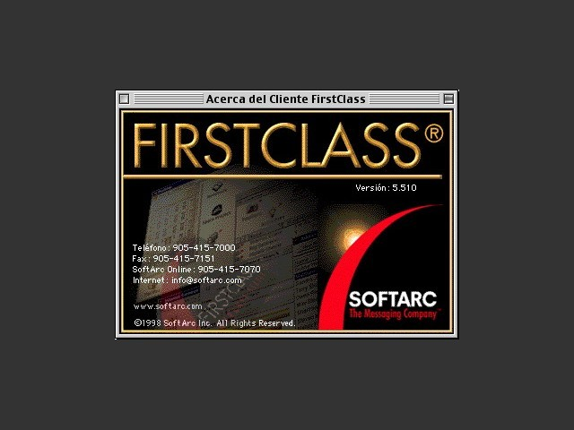FirstClass Client 5.5 (1998)