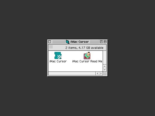 iMac Cursor (1997)