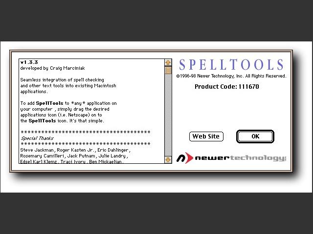SpellTools (1998)