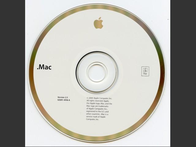 "691-4918-A,0Z, "".Mac"" v2.5 (2004)"