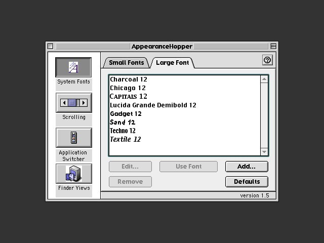 AppearanceHopper 1.5 (1999)